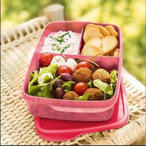 New Tupperware!! 2  large lunch it contain…